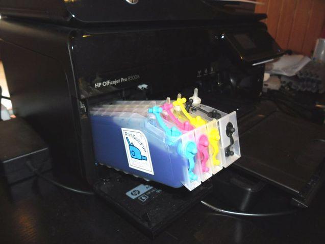 tinteiros recarregaveis HP940